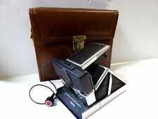 Excellent Shape Vintage BLACK Polaroid SX-70 Instant Land Camera Works Great