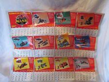 M.A.S.K. 80's Vintage Poster Ad Calendar 1987 Kenner Toy