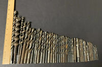 Mixed lot of 49 Pre-owned & Used Drill Auger Bits