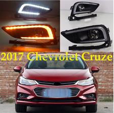 For Chevrolet Cruze 17-18LED DRL Daytime Running Lights 2Pcs White Driving Lamp