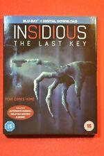 UK with Slipcover Blu-ray Insidious 4 The last key Blu-ray Region free