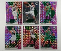 TATUM, HAYWARD, BROWN - Boston Celtics 2019-20 Mosaic Prizm Team Card Lot
