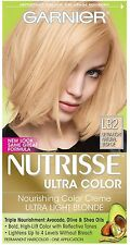 Garnier Nutrisse Ultra Color Creme, Ultra Light Natural Blonde [LB2] 1 ea 3pk