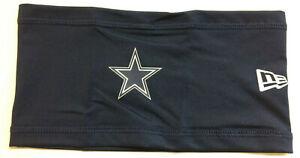 2021 Dallas Cowboys New Era NFL Training Skull Headband On Field Stretch Cap
