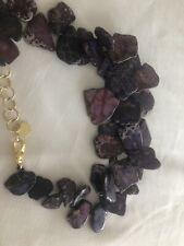 Purple Necklace By NEST Jasper Stones