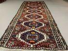 Vintage Tribal Luri Long runner 280x110 cm veg dye wool rug tribal cm handmade