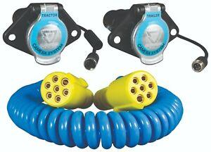 Suzi Cable Kit For 1 x Reversing Camera Kit (includes 4 metre 7 Pin Coil)
