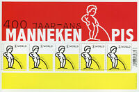Belgium 2019 MNH Manneken Pis 400 Years 5v M/S Art Sculpture Architecture Stamps