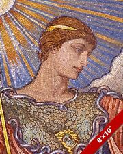 MINERVA ROMAN GODESS GREEK ATHENA ELIHU VEDDER PAINTING ART REAL CANVAS PRINT