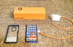 OnePlus 8 Pro - 256GB - Ultramarine Blue (Unlocked) (Dual SIM) (Almost unused)