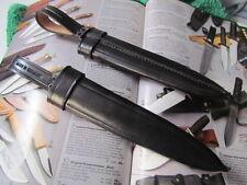 Messerscheide für Matrosen Messer Farbe Schwarz Solingen,MATROSE LINDER Rehw.Top