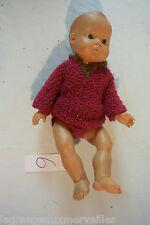 C6 Ancienne poupée habillée old doll 1