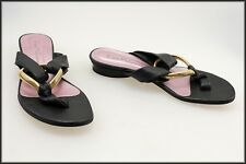 FIONA MCGUINNESS WOMAN'S FLAT THONGS SHOES SIZE 7 AUST MARKED 38 EUR
