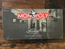 Monopoly Fairmont Hotels Resorts Centennial Edition