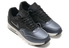 NEW WOMENS NIKE AIR MAX 1 ULTRA SE BLACK METALLIC ATHLETIC RUNNING SHOES Sz 9.5