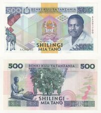 TANZANIA 500 Shilingi Banknote (1989) P.21a- UNC.