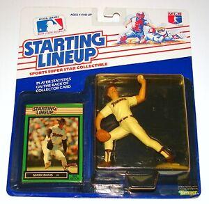 Starting Lineup Mark Davis MLB Baseball Figure Card MOC KENNER 1989