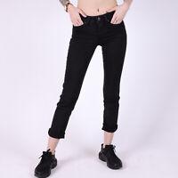 Levi's 712 Slim fit Soft Schwarz Damen stretch Jeans DE 32 / W24 L30