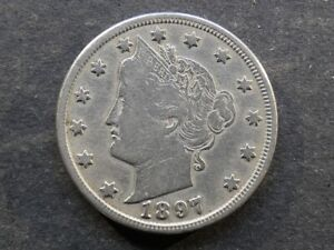 United States of America. 5 Cents (Nickel), 1897.