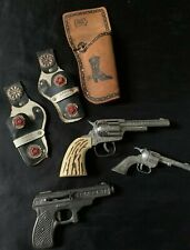 Vintage Western Toy Play Set Holster, Pop G-38 Etc 1950s +