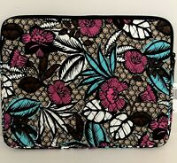 Vera Bradley LAPTOP SLEEVE Canyon Road Case Cover NWT