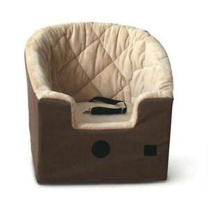 """K&H PET PRODUCTS 7622 Gray BUCKET BOOSTER PET SEAT SMALL GRAY 20"""" X 15"""" X 20"""""""