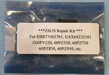 ** Repair Kit **  LG ZSUS EBR73561701, EAX64232101, 60PZ550, 60PZ750, 60PZ850
