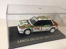 LANCIA DELTA HF 4WD rally car model Rally Della Lana 1987 D.Cerrato/G.Cerri