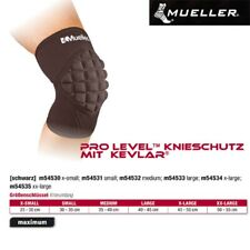 MUELLER Pro Level Knieschutz mit Kevlar in schwarz 1 Stck M
