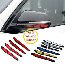 4* Red Car Door Edge Guard Strip Scratch Protector Anti-collision Trim Stickers