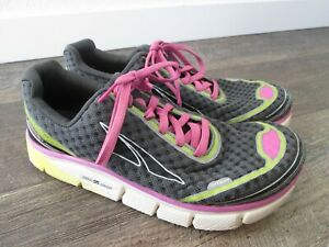 ALTRA Torin 2.0 Gray/Pink Womens size 8.5 Athletic Running Shoes
