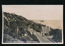 Kent FOLKSTONE Lower Sandgate Road 1951 RP PPC local publisher Uptons