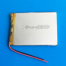3.7v 2500mAh Li Po Batería para Tablet PC DVD GPS Cámara Grabadora Pad a mediados de 406080