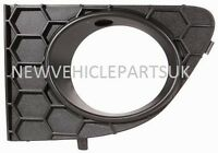 Fiat Punto 2012- Front Bumper Fog Grille  With Lamp Hole Passenger Side New