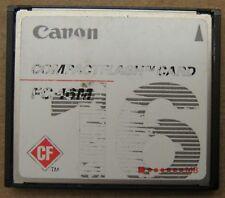 Canon FC-16M 16MB 16 MB Compact Flash CompactFlash Memory Photo Card USA Seller