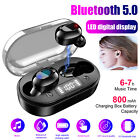 Wireless Earphone TWS Bluetooth 5.0 Earbuds for iPhone Headset Noise Cancelling