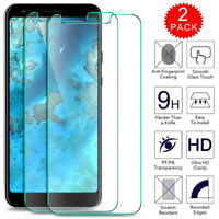 For Google Pixel 3a 3 2 XL Clear HD Tempered Glass Film Screen Protector 2-Pack