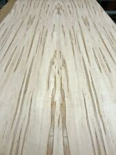 """Spalted Maple Wormy wood veneer 24"""" x 30"""" x 1/40th"""" with paper backer AA grade"""