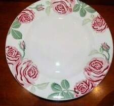 "NEW EMMA BRIDGEWATER  PINK ROSES   10"" DINNER PLATE"