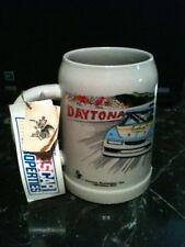Item #193 1990 Budweiser Limited Edition Daytona 'Bud Speed Week' Stein