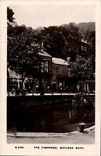 Matlock Bath. The Fishpond by WHS Kingsway # S 2751.