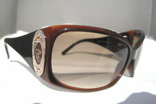 Chopard Womens SCH 063S 0958 Sunglasses Brown Rhinestone ITALY New Authentic