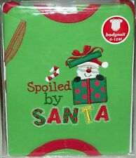 Baby Clothes body suit My First Xmas Santa baby's 6-12 month gift one piece kids