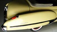 Buick 1950 Sport Car 1 Vintage Concept Built 12 Carousel Yellow 24 Model 25 8