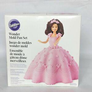Wilton Wonder Doll Princess Cake Mold Pan Set 2105-565