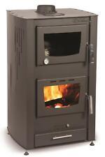 stufa a legna idro con forno 25 kw