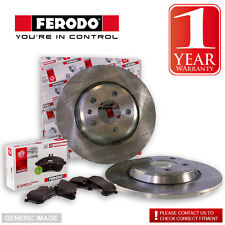 Ferodo Mercedes A170 W168 Series 1.7 Cdi 03/01 Rear Brake Discs Pads Fit TRW