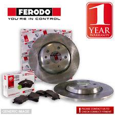Ferodo Mazda 323 Bj14S 2.0 Eng Fs7 Rear Brake Discs & Pads Set Fit Akebono