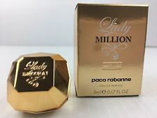 LADY MILLION ABSOLUTELY GOLD By PACO RABANNE MINI Perfume 0.17 OZ NEW IN BOX