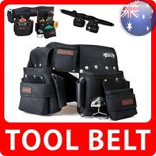 Runda Heavy Duty Tool Belt Nail Storage Trade Pocket Bag Hammer Holder RTB003